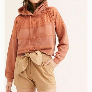 Free People Piper Pullover Mango Sizes S, M or L